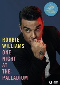 Cover Robbie Williams - One Night At The Palladium [DVD]